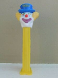 Peter The Clown Pez Dispenser Hungary Yellow