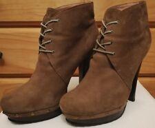 Diavolina Platform Leather Lace Up Boots Size 9