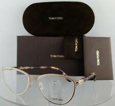 Brand New Authentic Tom Ford Eyeglasses FT TF 5420 074 52mm Pink Gold Frame
