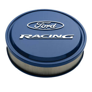 """Proform Air Cleaner Assembly 302-381; Ford Racing Ford Blue Aluminum 13 x 3"""""""
