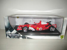 FERRARI 248 F1 MICHEAL SCHUMACHER J2980  HOTWHEELS RACING SCALA 1:18