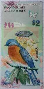 BERMUDA 2 DOLLARS 2009 P 57b.1 UNC