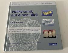 Zahntechnisches Fachbuch Vollkeramik auf einen Blick (gebundene Ausgabe)