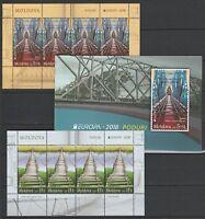 Moldawien 2018 CEPT Europa 8 postfrisch briefmarken Booklet