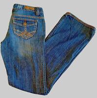 Mudd Women's Bootcut Dark Blue Jeans Junior Size 5