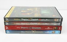 Disney Pirates of the Caribbean Movies Lot of Four, Dvd/Blu-Ray, Bonus Features