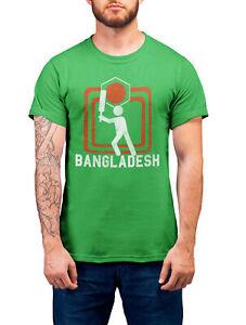BANGLADESH Cricket World Cup Organic T-Shirt Unisex Square Jersey Top Kit Gift