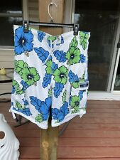 New listing Aeropostale Men's M Swim Trunks Board Mesh Lined Shorts Hawaiian Floral