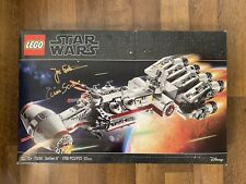 AUTOGRAPHED LEGO Star Wars Tantive IV 75244