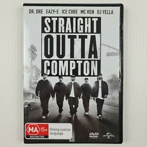 Straight Outta Compton DVD - Dr Dre - Eazy-E - Region 2,4,5 - TRACKED POST