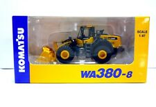 Komatsu Official Diecast Model Wheel Loader WA380-8 / 1:87 / Japan Exclusive