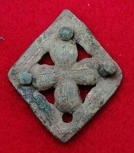 Lovely Medieval Gilt Bronze Mount