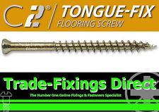 TIMCO TONGUE FIX FLOORING SCREWS FLOOR BOARDS TONGUE & GROOVE 3.5MM X 45MM