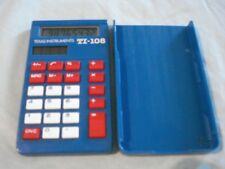 Texas Instruments Vintage Calculator TI-108, wit cover no instructions manual