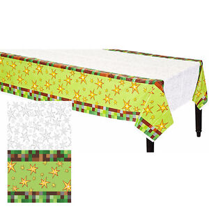 TNT Pixelated Video Game Boys Birthday Party Supplies Tableware Decorations