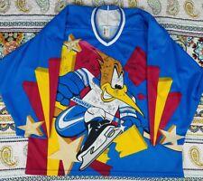 Phoenix Roadrunners Bauer 1995-96 Alternate Hockey Jersey Team Autograhed 2XL