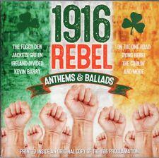 1916 Rebel Anthems & Ballads (CD celebrating 100 Year Anniversary Easter Rising)