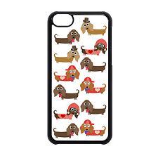 Nuevo Diseño Hermoso Salchicha lindo perro perro salchicha Iphone teléfono caso entrega gratuita.
