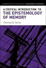 A Critical Introduction to the Epistemology of Memory#6985