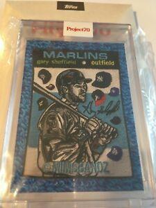 Gary Sheffield Topps Project70 by Misbandz Florida Marlins Baseball Card Yankees