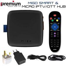 iPremium™ MIGO® Freesat 2160P 1GB+8GB UHD Smart IPTV Satellite Receiver Box 2018