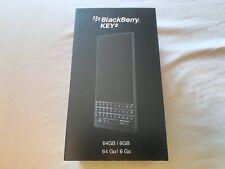 BRAND NEW SEALED BlackBerry KEY2 Black 64GB BBF100-2 GSM Unlocked US Model
