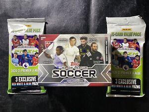Topps Soccer MLS Blaster box Sealed, Prizm Premier 2020-21 Brand New Lot