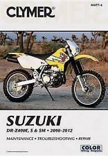 Clymer Suzuki DR-Z400E, S & SM 2000-2012 (Clymer Manuals: Motorcycle Repair), Cl