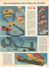 VINTAGE 1979 HOT WHEELS CRISS CROSS CRASH CARS ERTL JOIE CHITWOOD TRUCK ADS PAGE