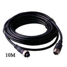 10m Waterproof Video Power Extension Cable 4pin Connectors For Car Monitor CAM