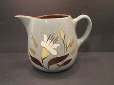 "Stangl Pottery GOLDEN HARVEST Hand Painted One Quart Pitcher 5-1/4"" H Vintage"