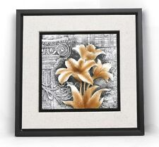 Wall frame flowers  / Resin / 3D / Home decorative