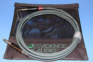 3' Instrument Cable ~ EA Reveal 3 feet Silent, Gold, or Nickel Plugs~ FREE BAG
