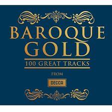 BAROQUE GOLD 100 GREATEST TRACKS (HÄNDEL, BACH, VIVALDI)  6 CD NEW+