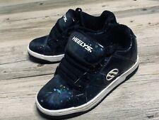 Heelys Black Glitter Specks Heel Skate Shoes Youth Size 4 Women's Size 5 Great