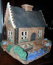 Landhaus, Tee-Lichterhaus Teelichthalter 16x16 cm