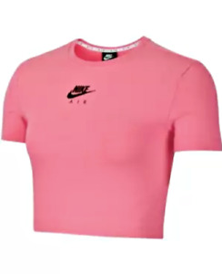 New Nike Womens Plus Size Cropped Logo Top Choose Size and Color MSRP $40