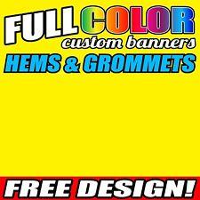Flex banner 16 oz with 3 qty