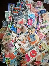 + 500 STAMPS - TIMBRES - FRANCOBOLLI TUTTI DIFFERENTI