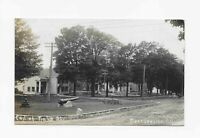 Vintage Postcard *** RPPC *** END OF MAIN ST.  *** MORRISVILLE *** NY *** 1913