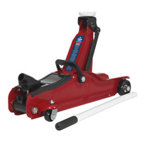 Sealey Trolley Jack 2tonne Low Entry Short Chassis - 1050CXLE