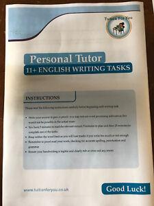 10x ENGLISH CREATIVE DESCRIPTIVE WRITING EXAM TEST TASKS  CEM SATS KENT