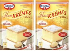 DR OETKER HUNGARIAN TRADITIONAL KRÉMES CAKE POWDER (2 X 225g)