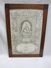 BIEDERMEIER-RAHMEN - um 1820 - KIRSCHBAUM furniert - Klassizismus - 69x49x2cm