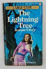 Lightning Tree Jeanne Crecy Berkley Large-Type Gothic PBO 1973