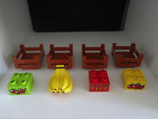 Lego Duplo Farm Garden Crates Bricks Food Lot Set Banana Carrots Tomato's Apples