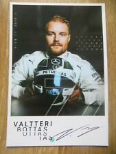 Autogrammkarte *VALTTERI BOTTAS* MERCEDES AMG PETRONAS Formel 1 F1 TEAM 2019