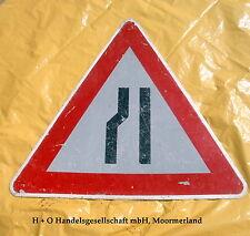 Verkehrszeichen Verkehrschild  StVO - Nr. 121 einseitig links verengte Fahrbahn
