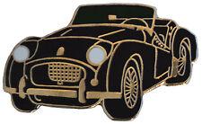 Triumph TR2 car cut out lapel pin - Black body