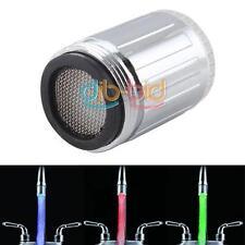 Light Water 7 Colors Change #3 Glow LED Faucet Tap Automatic Mini Set 2018 US